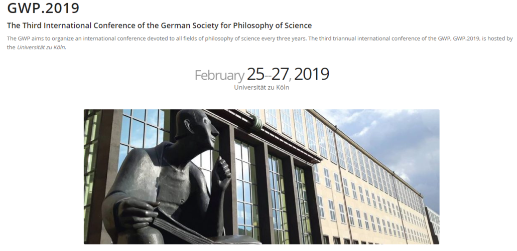 Hüttemann Düsseldorf cfp third international conference of the german society for